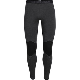 Icebreaker 260 Zone Leggings Hombre, jet heather/black